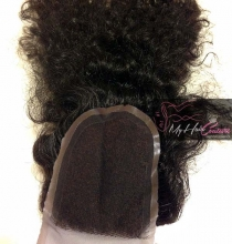 Virgin Deep Curly Lace Closure